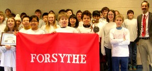 Forsythe Middle School sixth-, seventh-, and eighth-graders placed second out of 10 teams in Michigan in the Knowledge Master Open.