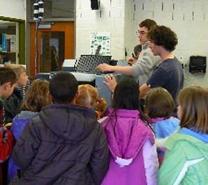 One of the many programs funded through the Ann Arbor Public Schools Educational Foundation.