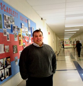Gerald Vazquez started as the principal at Scarlett Middle School in December.