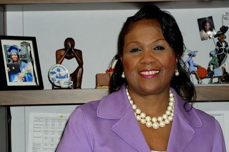 Elaine Brown, assistant superintendent for SISS, Ann Arbor Public Schools