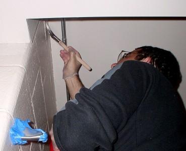 Volunteer painters at Carpenter