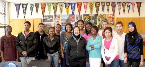 Pioneer freshmen Rising Scholars