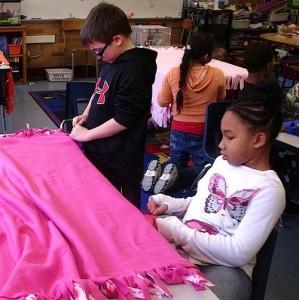 Pattengill blanket making