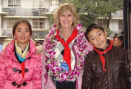 Fitzgibbon in China