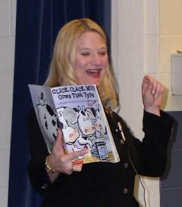 Sen. Rebekah Warren at Bryant Elementary