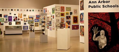 K-12 art exhibit