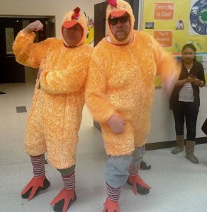 Chicken fat at Slauson