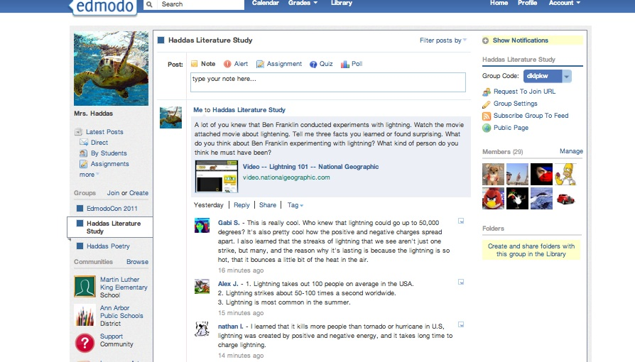 Screen shot edmodo screen shot edmodo stopboris Images
