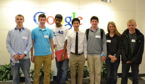 high school students invited to google ann arbor office