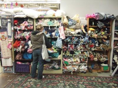 PTO Thrift shopper