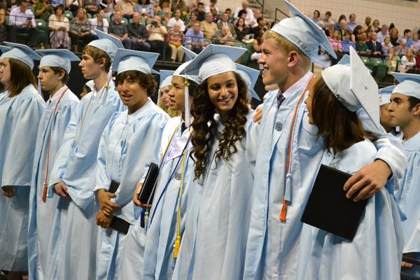 Skyline's First Graduation