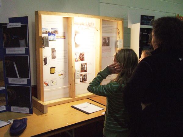 Forsythe Middle School Science Fair February 2012.