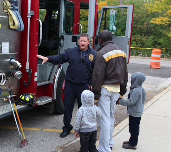 Transportation Day Fire Truck