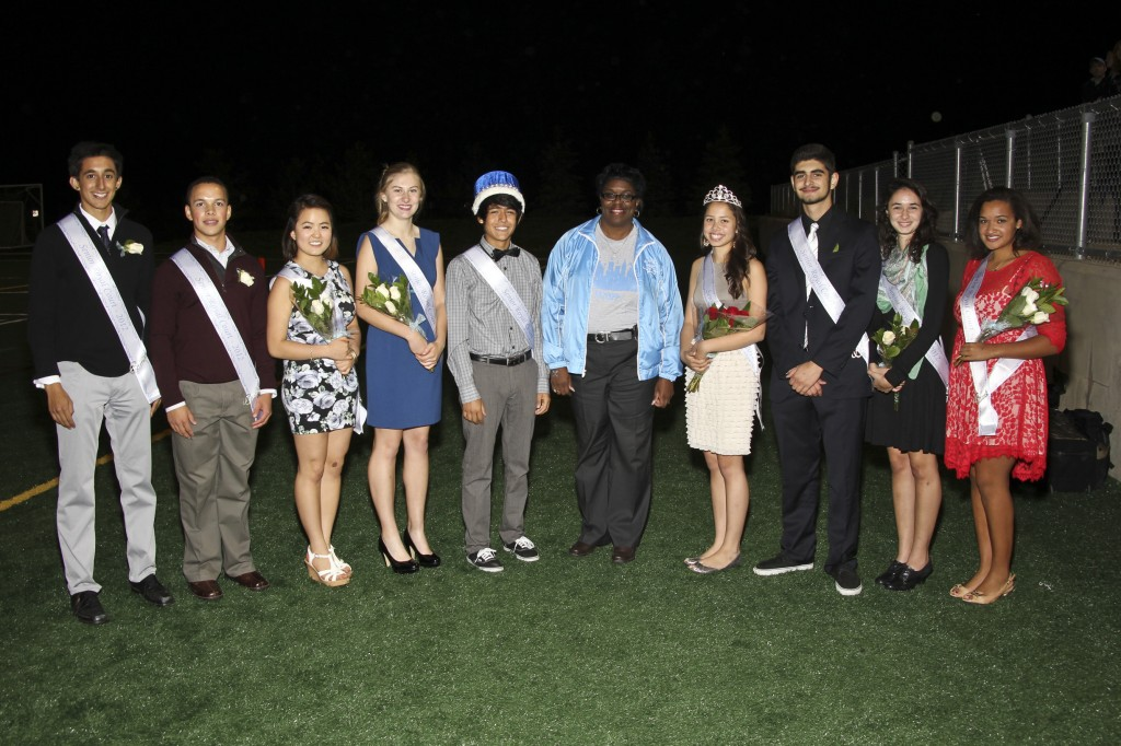 Skyline Homecoming Court 2012