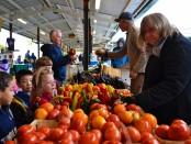 AA Open kindergarten field trip to farmer's market