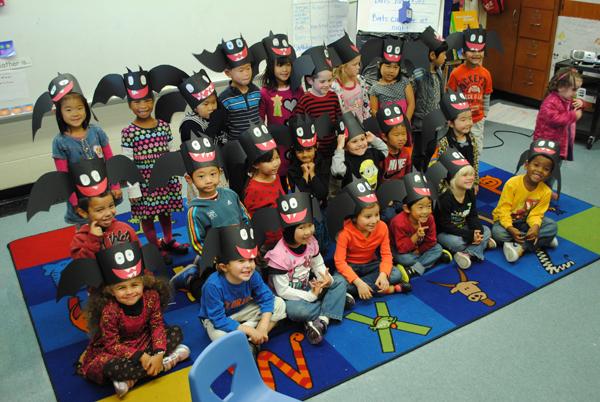King Kindergarteners learn about bats