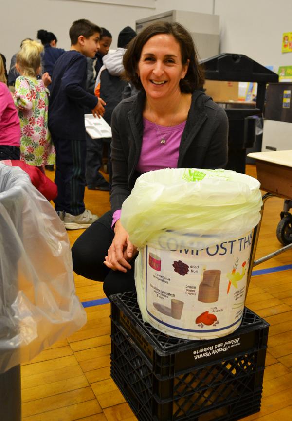 Compost bin at Eberwhite