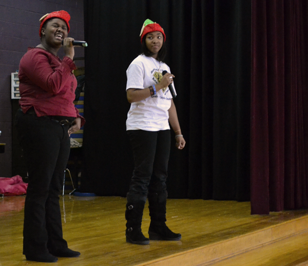 Holiday performance at Northside
