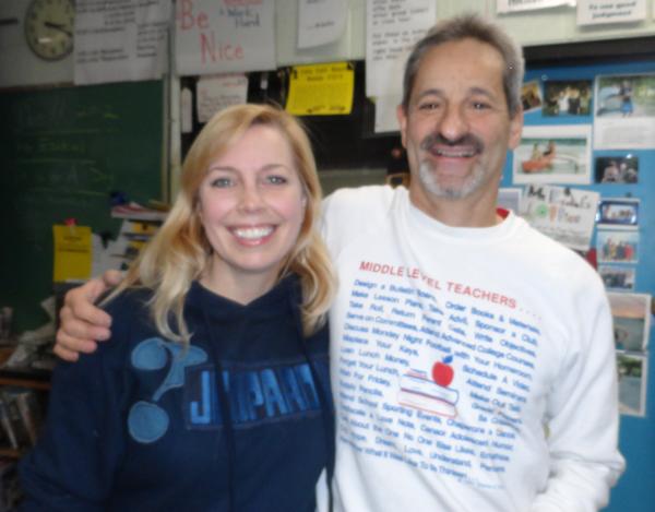 Stephanie Jass with Dan Ezekiel