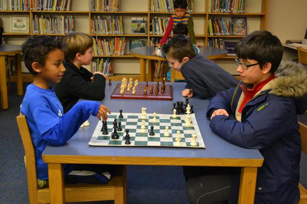 Northside Elementary Media Center (January 2013 stock photo)
