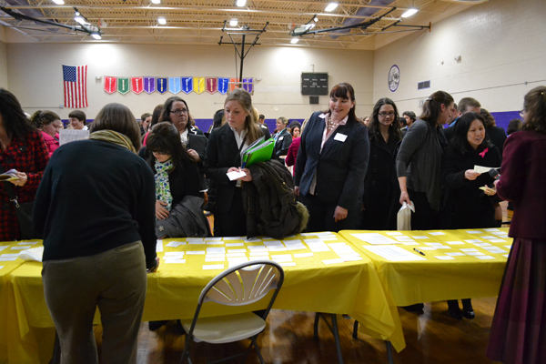 AAPS hosted a Teacher Fair Feb. 28, in hopes of reaching out to teachers who are interested in working for the district.
