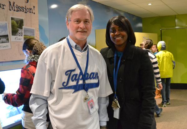 Tappan Assistant Principal Rick Weiler and Principal Jazz Parks