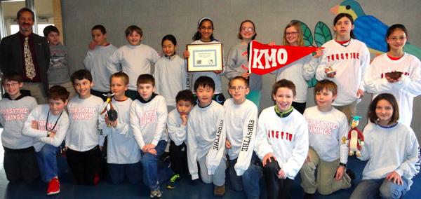 Forsythe KMO team March 2013