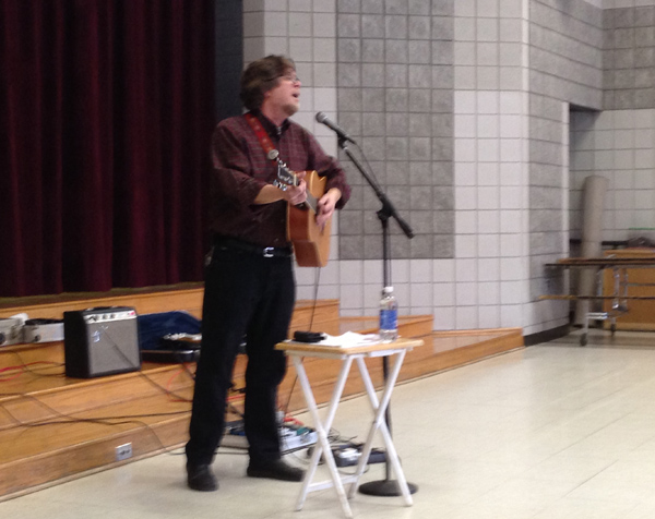 John Latini performs at Northside