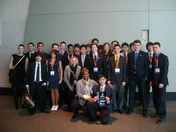 Skyline DECA at Grand Rapids conference