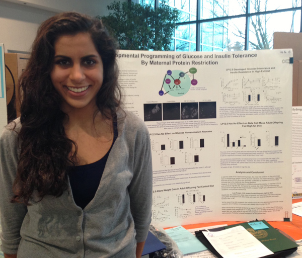 Maya Gianchand is heading to the State Science Fair with her project.