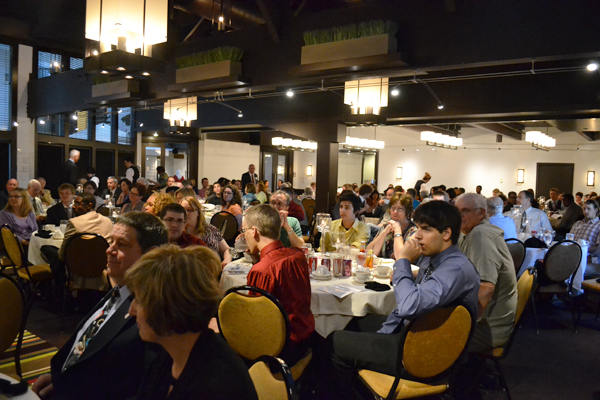 The banquet was attended by past and present students, AAPS administrators and families.