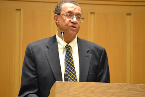 "The U-M Center for Educational Outreach continues to help shape the Rising Scholars program. Dr. William Collins, the center's executive director, addressed the students at the Senior Recognition Ceremony on May 9: ""Your livelihood will depend on knowledge, what you have acquired and internalized and carry with you."""