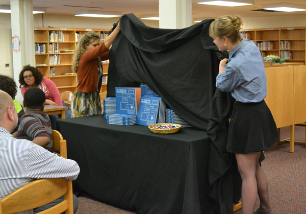 """All I Could Do Was Look Up: Anatomy of a Middle School"" was unveiled June 6 at Scarlett Middle School."