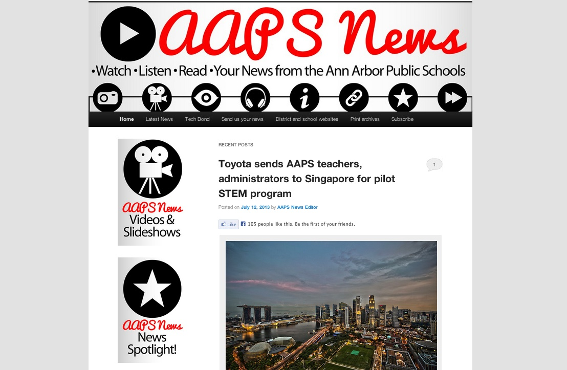The AAPS News' last makeover took place in Dec. 2011. It's time for an upgrade!