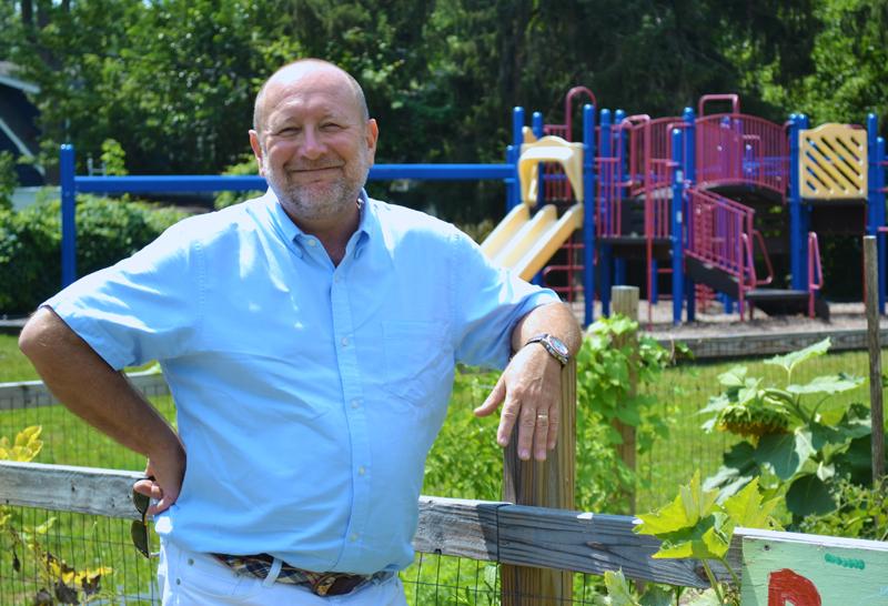 Burns Park Principal Chuck Hatt