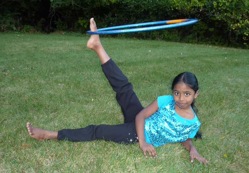 Guinness World Records confirmed this Northside fourth grader's third record last month.   Photo provided by the Shanker family.