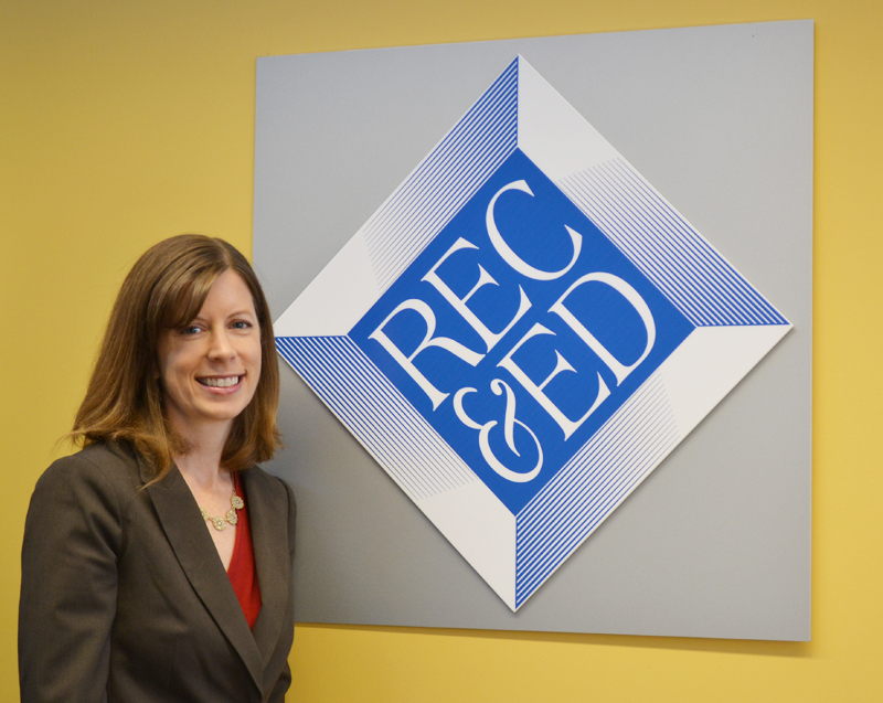 Rec&Ed Executive Director Jenna Bacolor