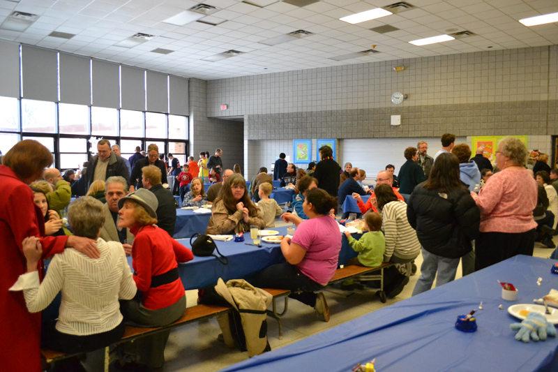 Rick Dekeon's memorial was well-attended at Northside on Dec. 8.