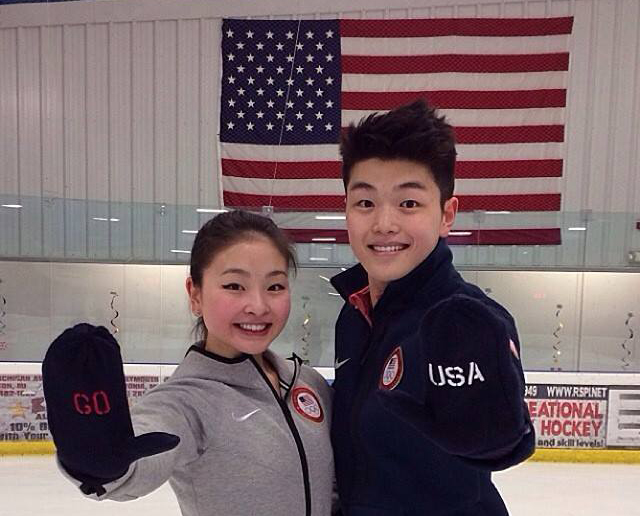 Maia and Alex Shibutani. Photo provided by their Facebook fan page.