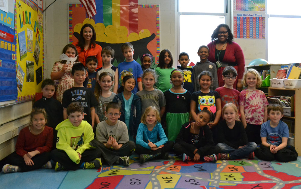 VIDEO: Burns Park second graders reach out to U.S. military ...