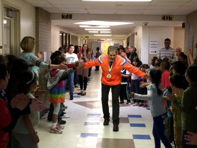 Mitchell's clap-out for Mr. Karr