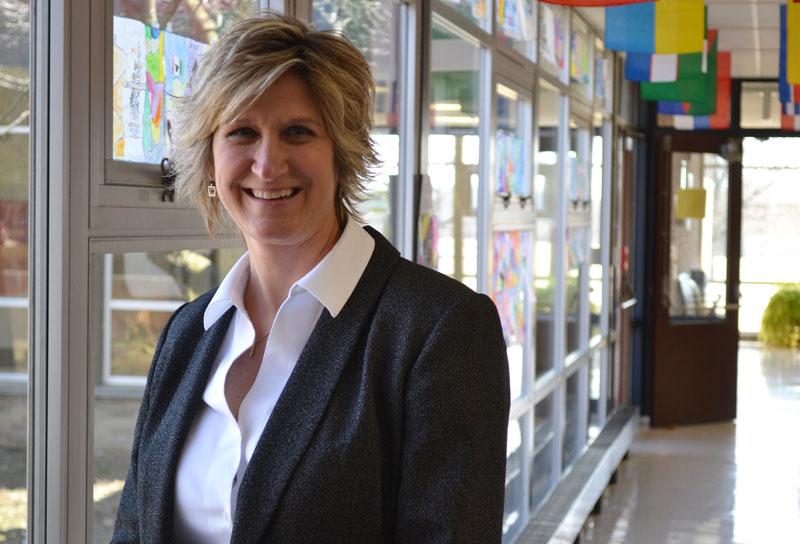 Joan Fitzgibbon at Allen Elementary, April 2, 2014.