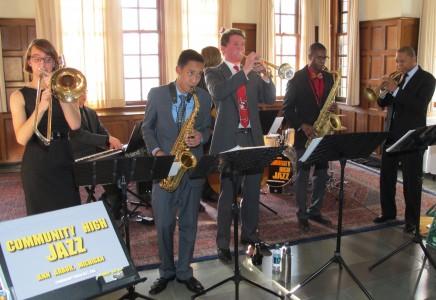 The Community High Superbad Jazz Combo with Wynton Marsalis