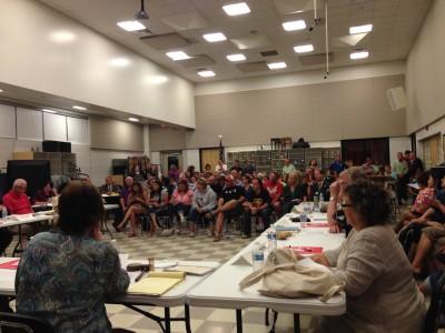 AAPS & Whitmore Lake School Boards meeting at Whitmore Lake High School