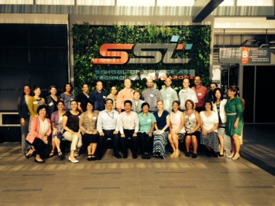 AAPS visits School of Science and Technology in Singapore, Tuesday, July 15, 2014