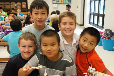 King Elementary Students