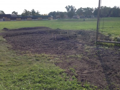Thurston Rain Garden Construction