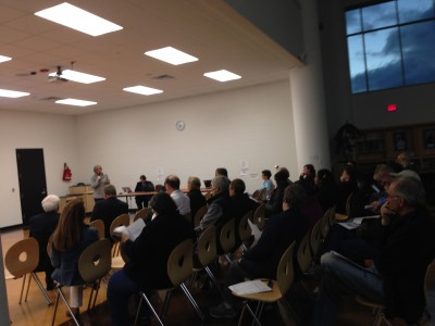 Annexation Meeting at Skyline High School October 29, 2014
