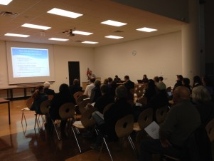 Annexation meeting at Skyline High School, October 29, 2014