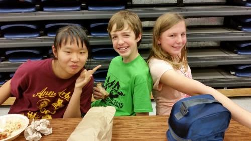 3 clague kids